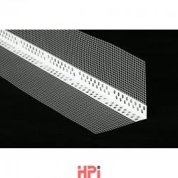 Rohová lišta s tkaninou PVC