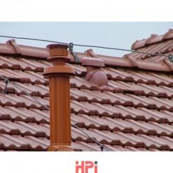 Větrák krátký Venduct® pro prostup 100 mm