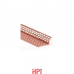 Větrací profil úhlový PVC 50 mm / 70 mm