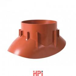 Adaptér pro turbokotel Venduct® 125 mm
