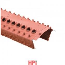 Větrací pás s kartáčem šířka 180 mm, kartáč 60 mm